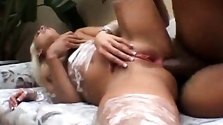 Big boobs blonde anal interracial que puta es