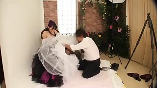 Molesting The Bride in Pre Bridal Photo Gallop
