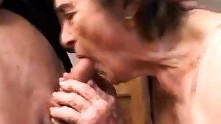 OldNanny Chubby granny and aged granny masturbating