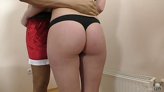 Natural buxom GF Molly OConnor loves facesitting and horny religious