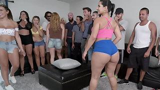 When porn stars show involving