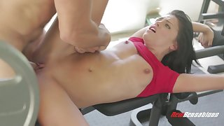 Adriana Chechik - Luscious Student In The Gym