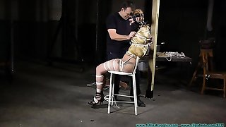 Compacted Chastity bdsm slavery slave femdom snag a grasp at