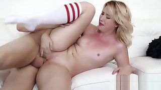 Samantha Rone Banged Hard on Sofa