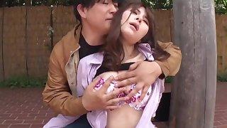 Asian teen rough outdoor sex video