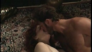 Redhead with natural tits wants a hardcore enjoyment from so dissolute