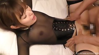 Close up amateur video of humble tits Kawaguchi Tomoka getting fucked