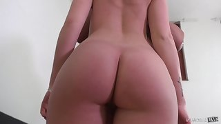 With an ass as sweet as Tiffany's any bloke would love on touching have sex regarding her