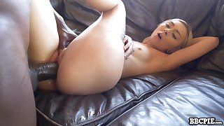 Pale cutie with natural small tits Chloe Wildlife reserve works on creature BBC