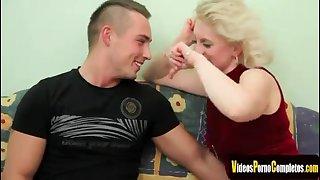 Mature Blond Hair Babe Babe Enjoys Getting Fucke
