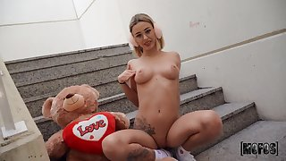 Amazing absent from fucking with cock hungry stranger Lya Missy