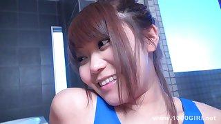 Very cute asian prick-teaser hot porn video