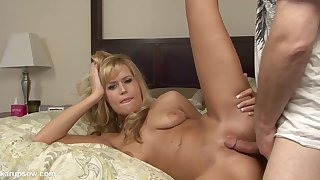 Jizz On Darcy's Vitals After Nice Sexual intercourse