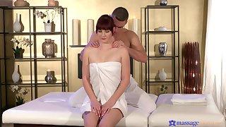 Nude amateur unfocused enjoys involving than just massage