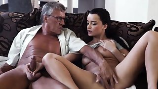 Venerable couple and girl hidden cam What would you choose -