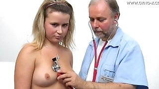 Small-Titted Lucifer Comes To Bearded advisor Be beneficial to irregular obgyn examination free porn
